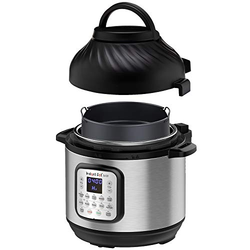 Instant Pot Duo Crisp 11 in 1, Electric Pressure Cooker with Air Fryer,...