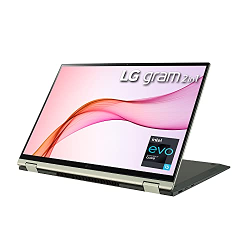 LG LCD Laptop 16' 2-in-1 Lightweight Touch (2560 x 1600) Display , Intel...