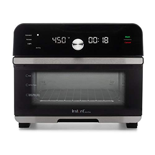 Instant Omni Plus 10-in-1 Air Fryer Toaster Oven, Rotisserie Oven,...