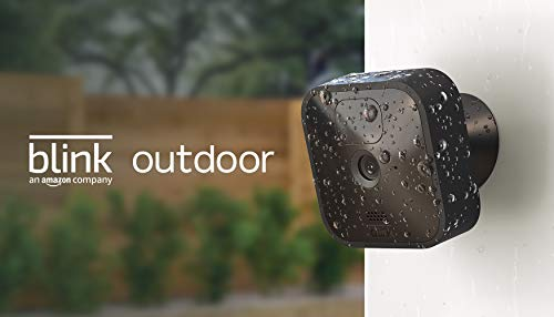 Blink Outdoor - wireless, weather-resistant HD security camera, two-year...