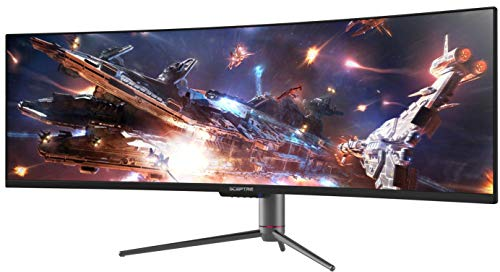 Sceptre Curved 49 inch (5120x1440) Dual QHD 32:9 Gaming Monitor up to 120Hz...