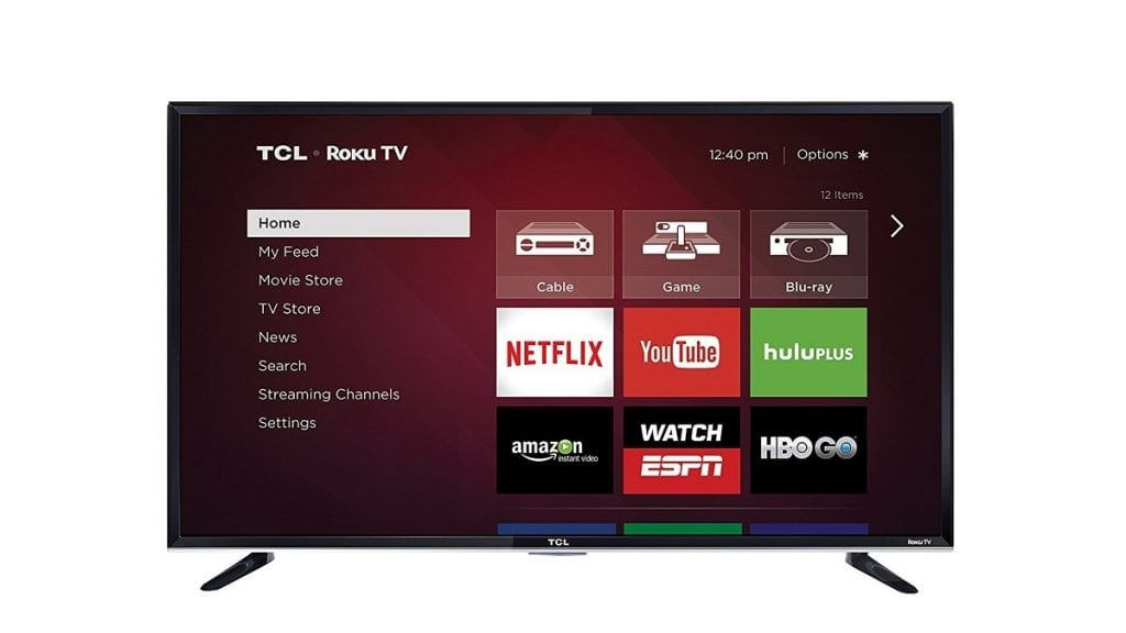 TCL 50FS3800 Roku Smart LED TV (2015 Model)