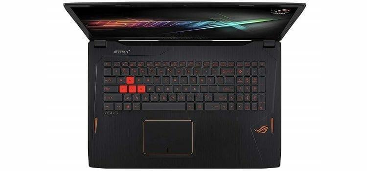 Asus ROG Strix GL702VM DB71 keysboard