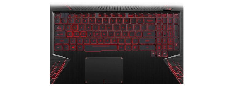 ASUS TUF FX504GE-US52 keyboard