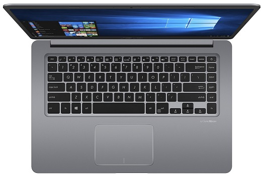 ASUS VivoBook F510UA AH51 keyboard and touchpad