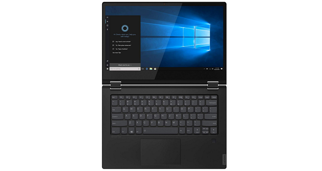 Lenovo Flex 14 keyboard and touchpad