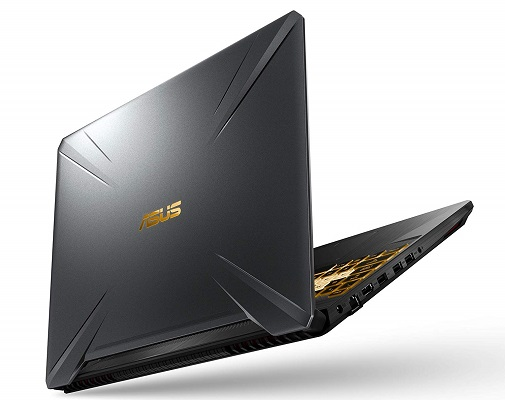 ASUS TUF505DU-EB74 (2019) gaming laptop lid