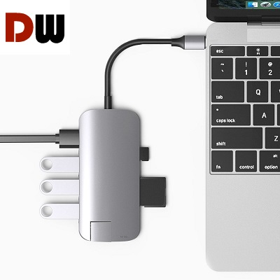 VAVA USB C Hub 8-in-1 Adapter charging