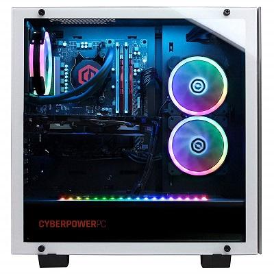 CYBERPOWERPC Gamer Supreme SLC10220CPGV2 transparent side