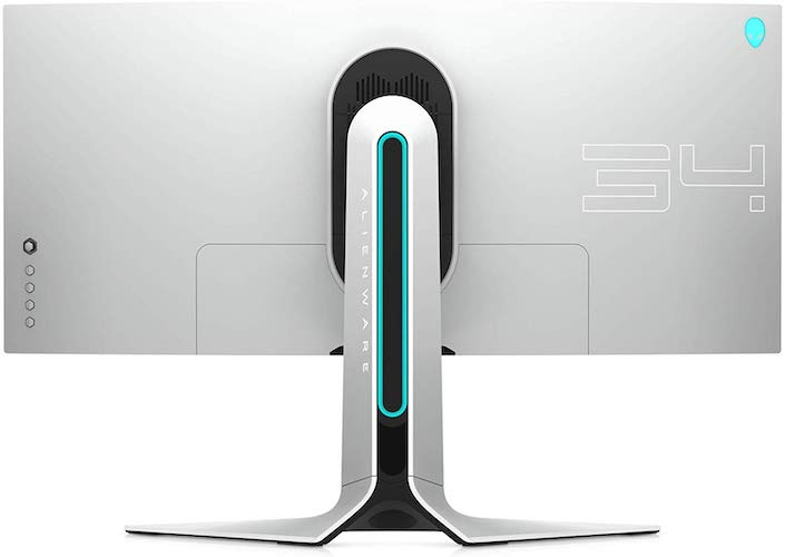 Alienware AW3420DW back