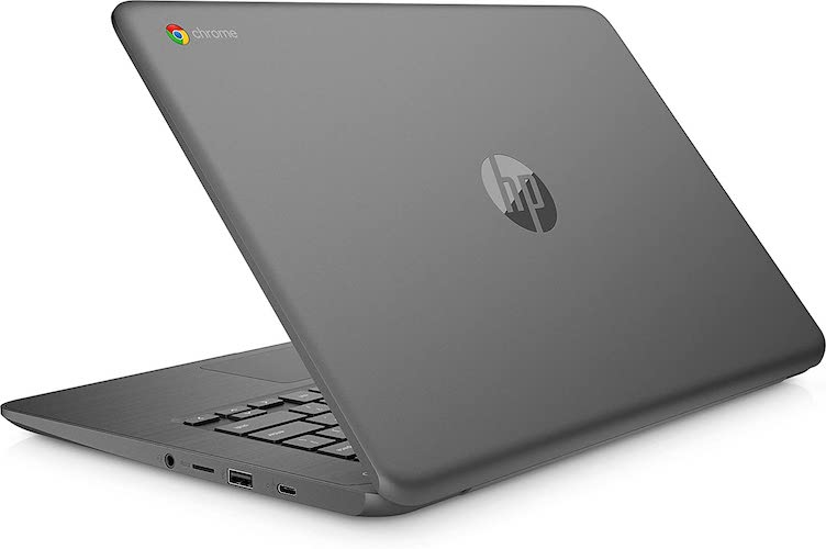 HP Chromebook 14-db0003na ports