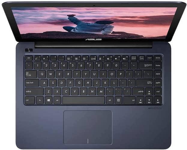 ASUS VivoBook E402YA keyboard