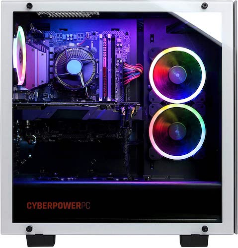 CyberpowerPC Gamer Extreme GXiVR8020A7 side