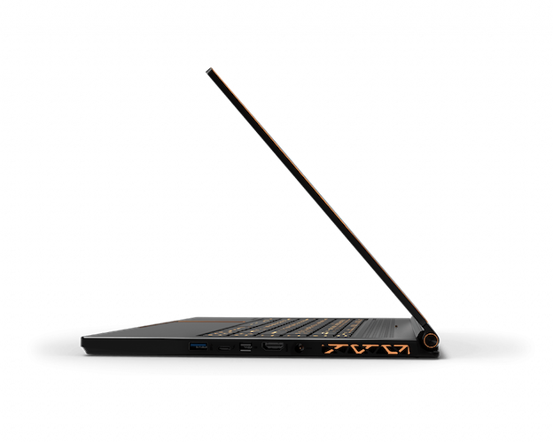 MSI GS65 Stealth-483 side