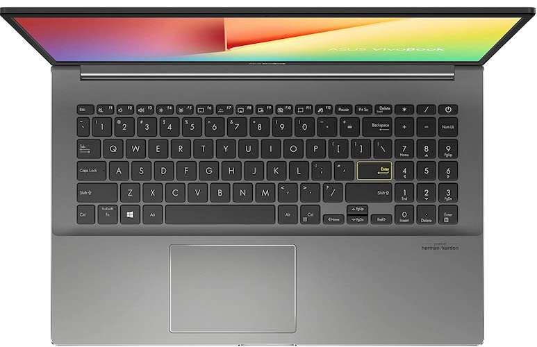 Asus VivoBook S433FA-DS51 keyboard