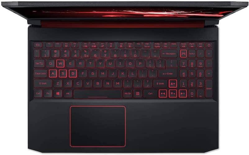 Acer Nitro 5 AN515-54-728C keyboard