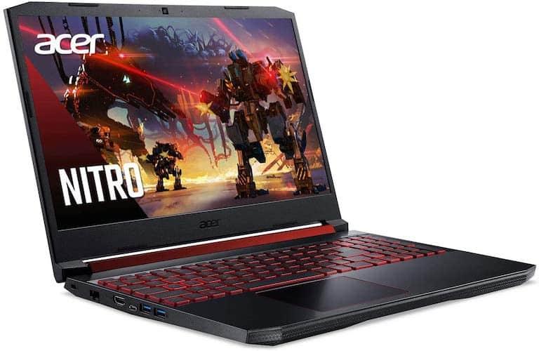 Acer Nitro 5 AN515-54-728C ports