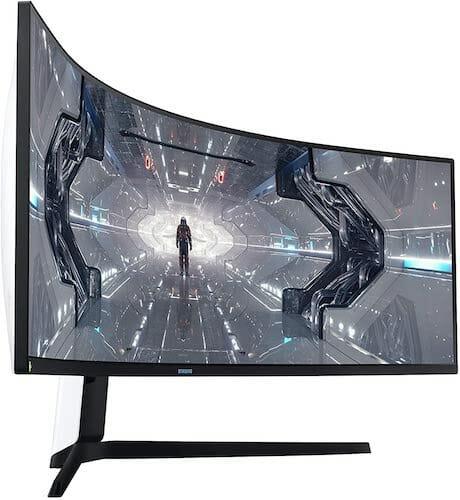 Samsung Odyssey G9 LC49G95TSSNXZA screen
