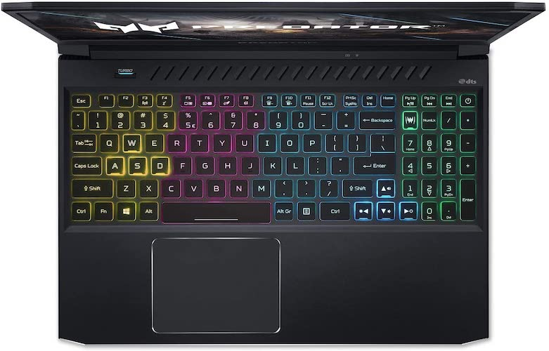 Acer Predator Helios 300 PH315-53-71VG keyboard