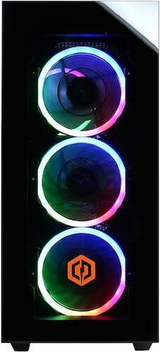 CyberpowerPC Gamer Supreme Liquid Cool SLC8260A3 leds