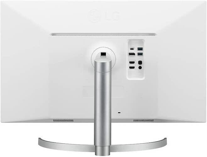 LG 27UN850-W ports