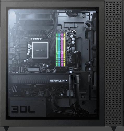 HP Omen 30L GT13-0092 side panel
