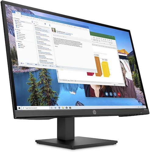HP M27ha FHD Monitor front