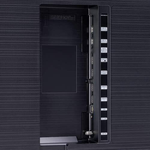 Samsung QN55Q70TAFXZA ports