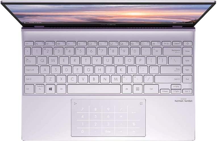 ASUS ZenBook 13 UX325JA-AB51 keyboard