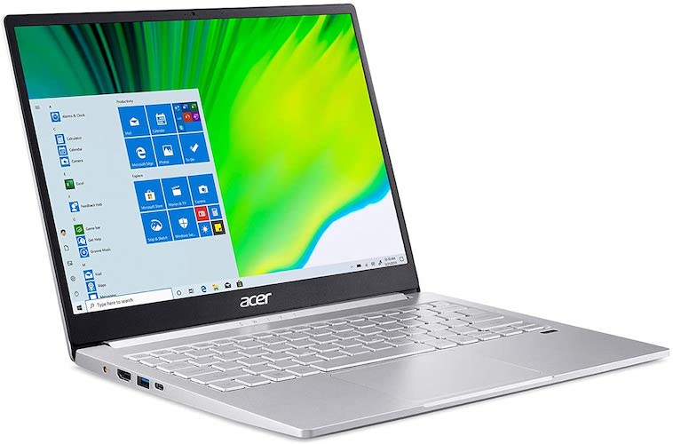 Acer Swift 3 Review (SF313-53-78UG, 2021) screen