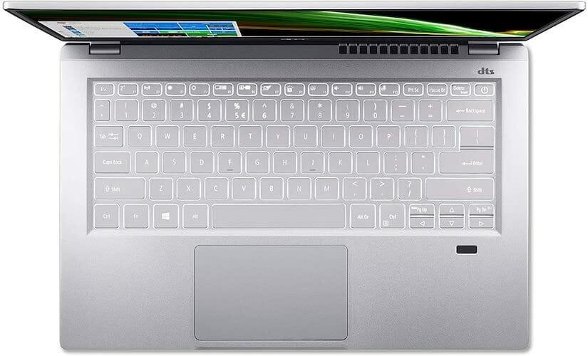 Acer Swift 3 (SF314-43-R2YY, AMD) keyboard