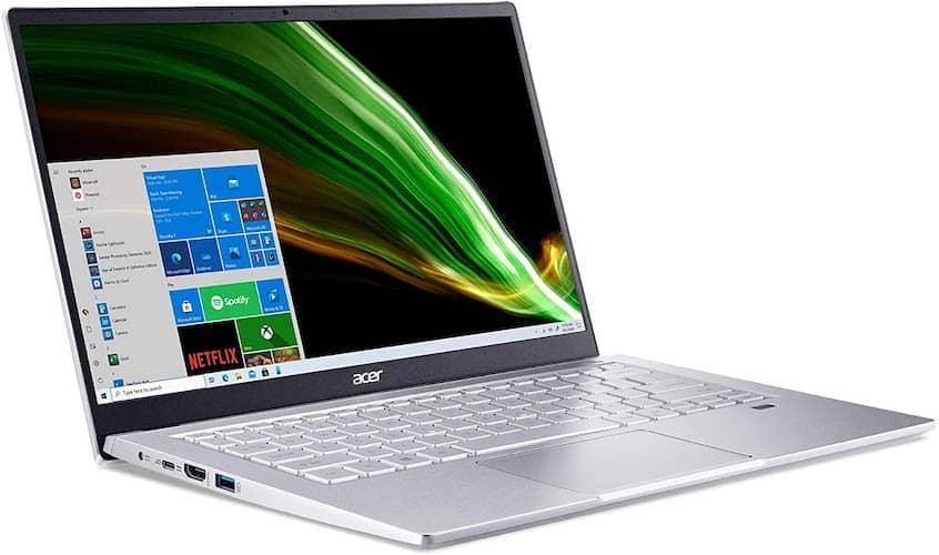 Acer Swift 3 (SF314-43-R2YY, AMD) ports