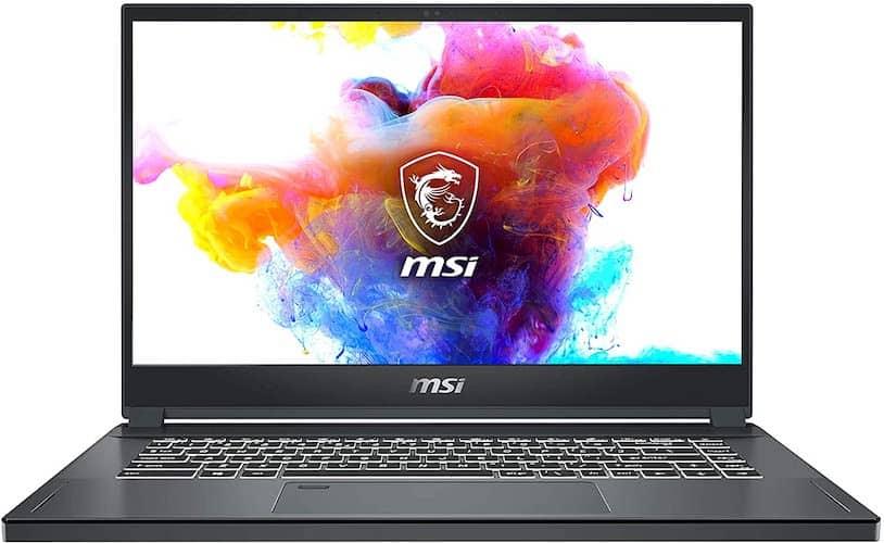 MSI Creator 15 A10SFS-287 screen