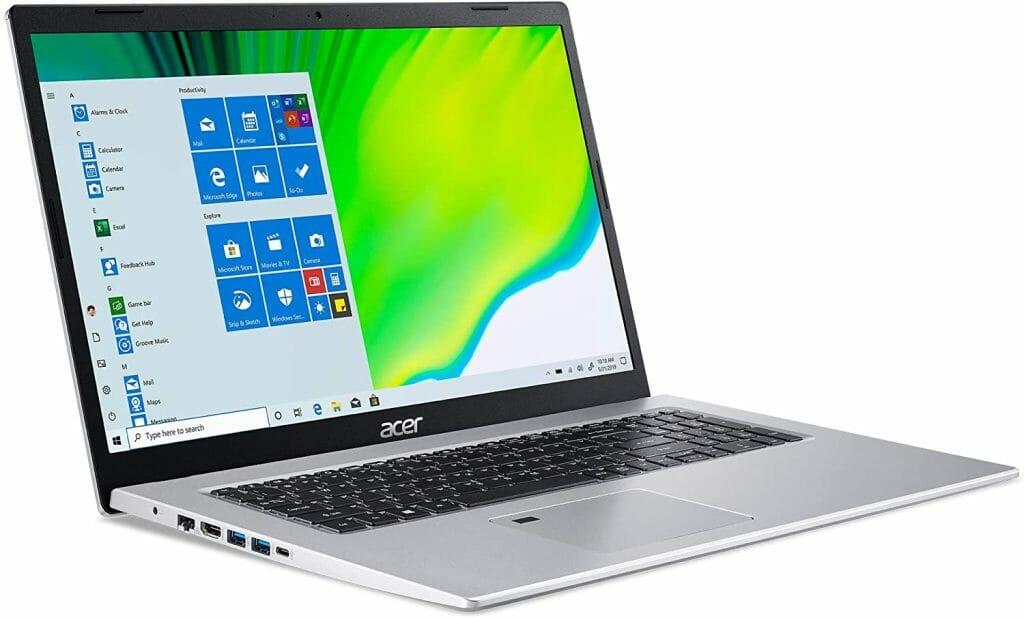 Acer Aspire 5 A517-52-59SV screen