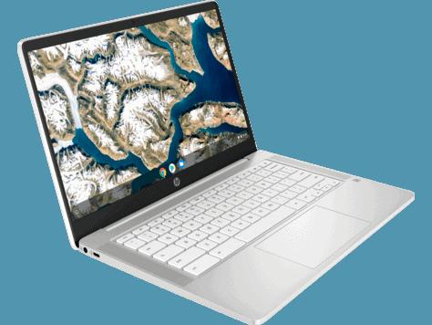 HP Chromebook 14 14a-na0021nr front