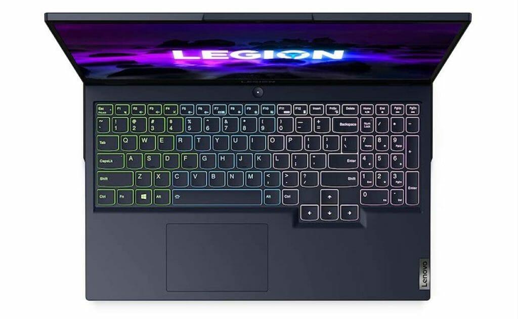 Lenovo Legion 5 15 keyboard