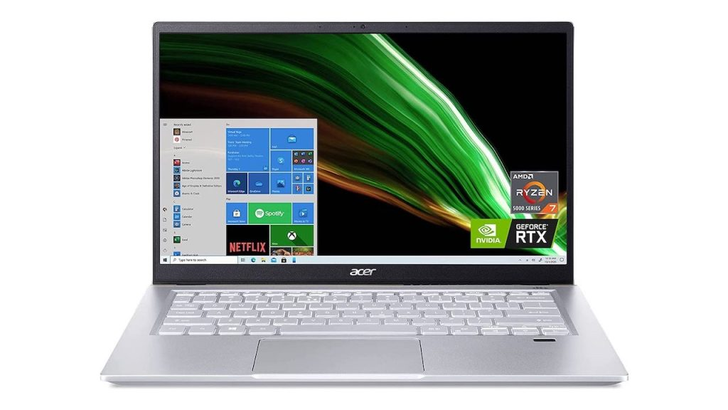 Acer Swift X SFX14-41G-R1S6 Review