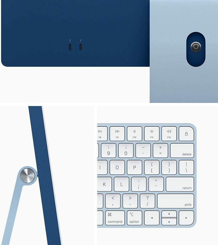 2021 Apple iMac side