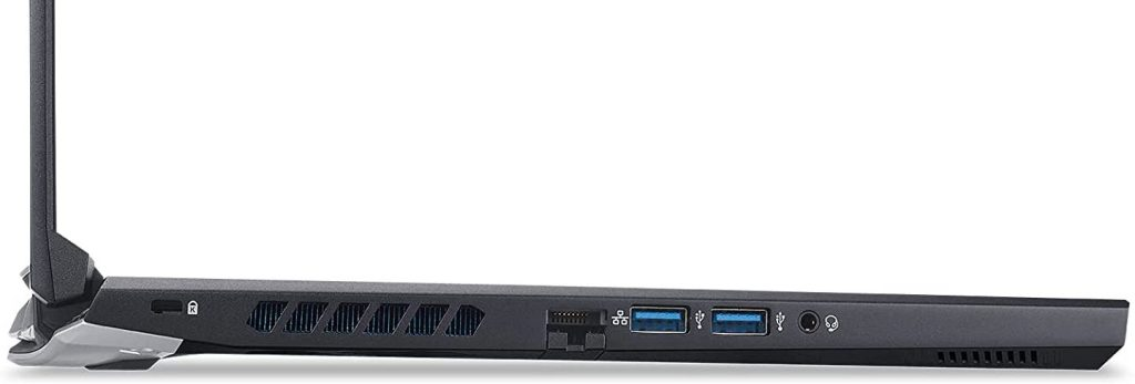 Acer Predator Helios 300 PH315-54-760S ports