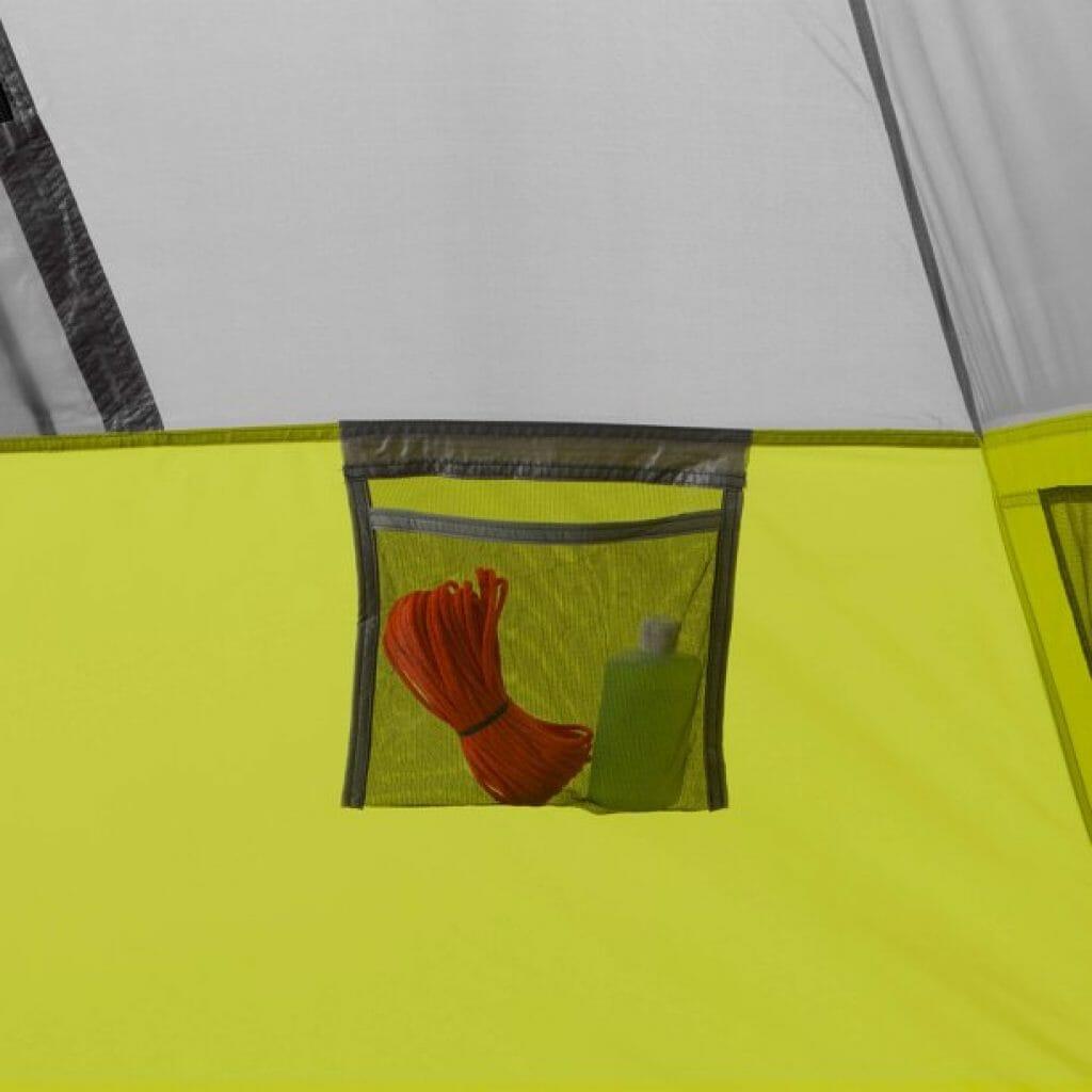 Core 9 Person Instant Cabin Tent pockets